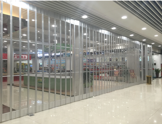 Separation bar of Jiaxing service station
